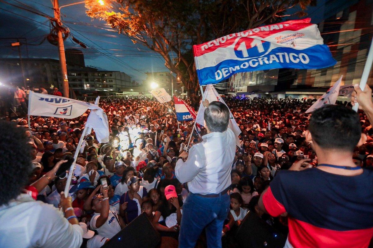 JUVENTUD del PRD realiza exitoso cierre de Campaña